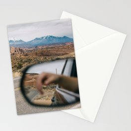Reflection in Moab Stationery Cards