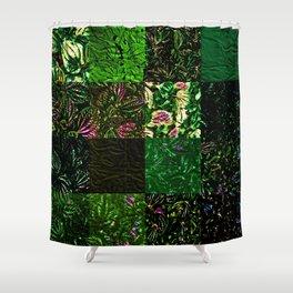 Foliage Patchwork #1 Shower Curtain