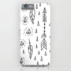 Diamonds, arrows & feathers iPhone 6s Slim Case