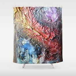 The mesozoic Shower Curtain