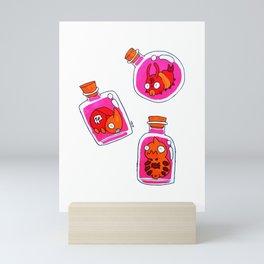 Bottle Bugs I Mini Art Print
