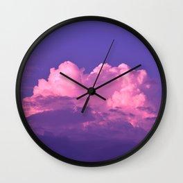 Cloud of Dreams Wall Clock