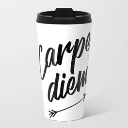 Carpe diem Seize the day Arrow Travel Mug