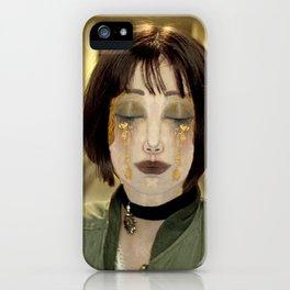 Mathilda's tears iPhone Case