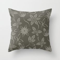 MAUA flora Throw Pillow