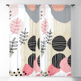 Organic Mid Modern Nature 2.4 Blackout Curtain
