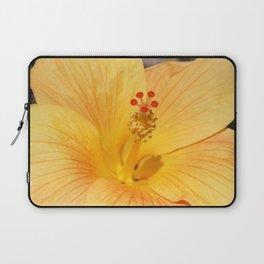 Golden Hibiscus Laptop Sleeve