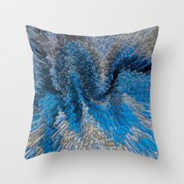 Block art Throw Pillow