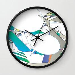 Color #6 Wall Clock
