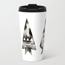 Geometric Arrowheads Travel Mug