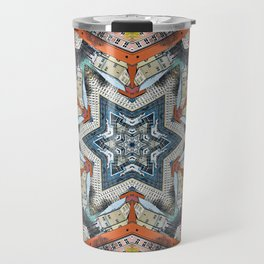 Abstract Geometric Structures Travel Mug