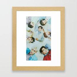 GOT7 Poster Framed Art Print