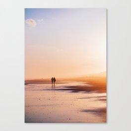 Seashell Seekers Canvas Print