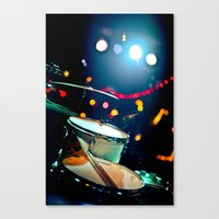 drums Canvas Prints featuring drums by petervirth photography