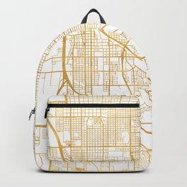 TUCSON ARIZONA CITY STREET MAP ART Backpack