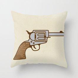 Flower Pow! Throw Pillow