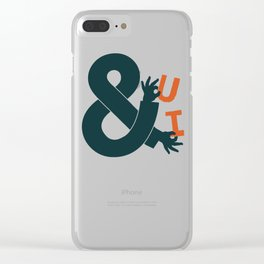 You and I Clear iPhone Case