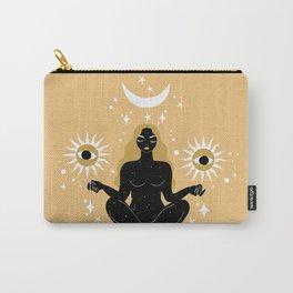 sun, moon, stars meditation Carry-All Pouch