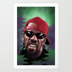 Sourdeezal Art Print