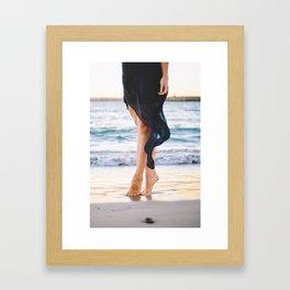 Toes Framed Art Print