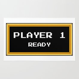 Player 1 ready Rug