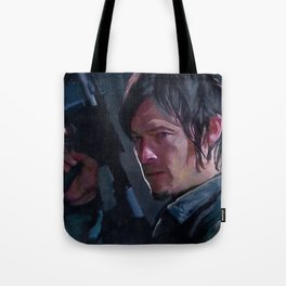 Daryl Dixon Night Watch - The Walking Dead Tote Bag