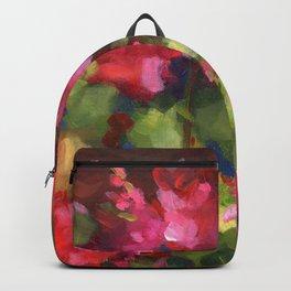 Geranium Reds Backpack