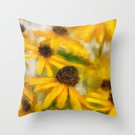 Dance Party Throw Pillow