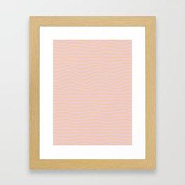 Wave Coulier Framed Art Print