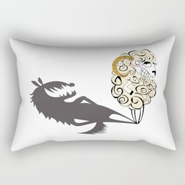 Shady Sheep Rectangular Pillow