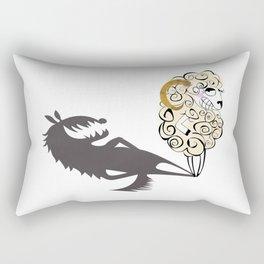 Shady Sheep Rectangular Pillow