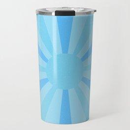 blue sunshine Travel Mug