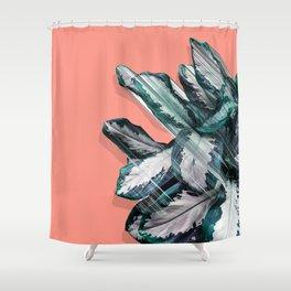 Skyward Plant Shower Curtain