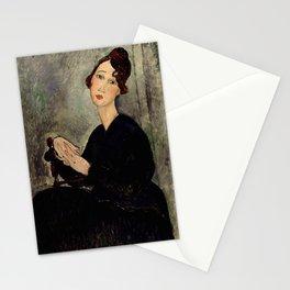 """Amedeo Modigliani """"Portrait of Dedie"""" Stationery Cards"""