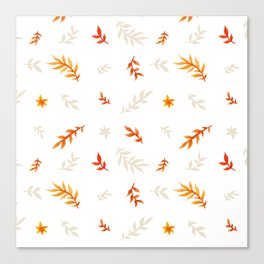Watercolor autumn Canvas Print