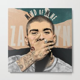 MIND OF MINE (ALT. COVER) ZAYN Metal Print