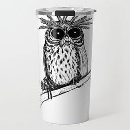 Metal Owl Travel Mug