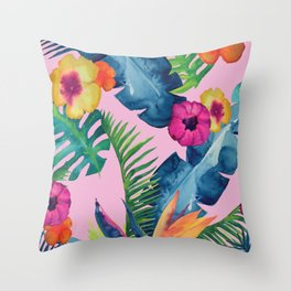 Tropic Dream Throw Pillow