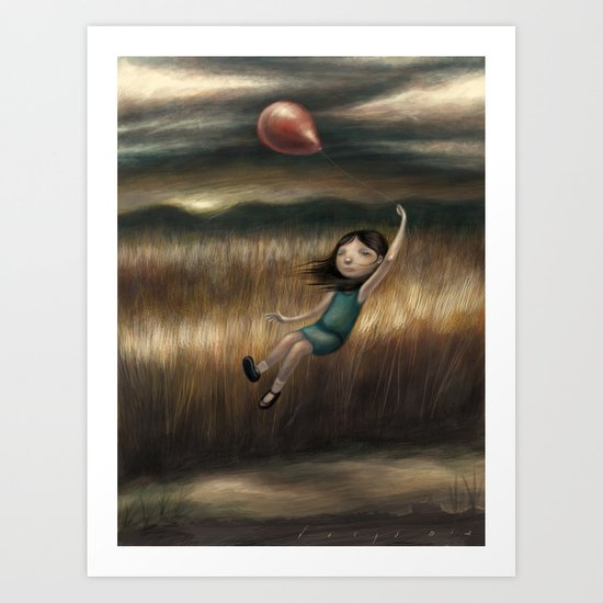 Anywhere But Here Art Print