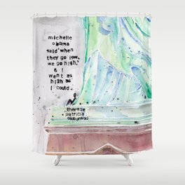 Therese Patricia Okoumou Shower Curtain