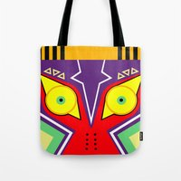 majora Tote Bags featuring MAJORA by pipocaVFX