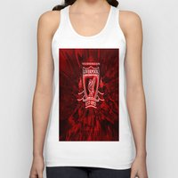 liverpool Tank Tops featuring LIVERPOOL LOVER by Acus