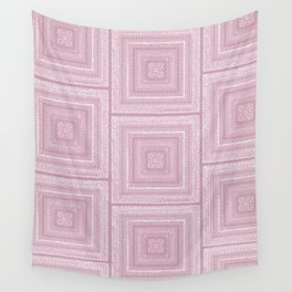 Dusty Rose Drawing Therapy Wall Tapestry