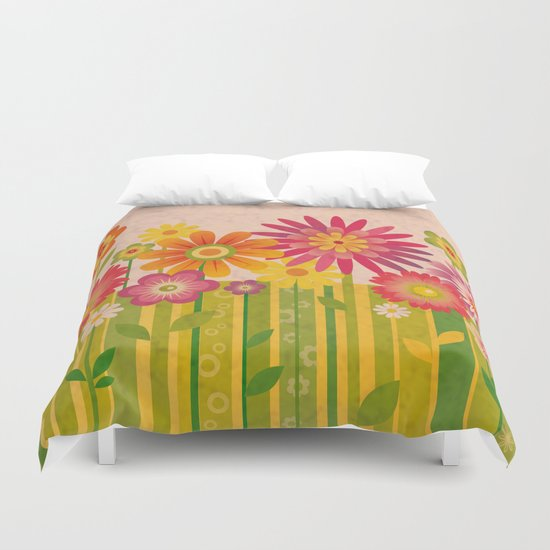 Spring Fun Duvet Cover