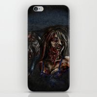 zombies iPhone & iPod Skins featuring Zombies!! by Shyniester
