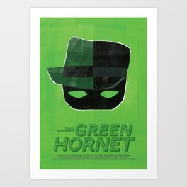 The Green Hornet Art Print