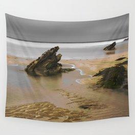 Fistral Beach, Newquay, Cornwall, England United Kingdom Wall Tapestry