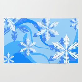 The Flower Abstract Holiday Rug