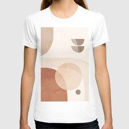 Abstract Minimal Shapes 16 T-shirt