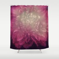 cosmic Shower Curtains featuring Cosmic  by KunstFabrik_StaticMovement Manu Jobst